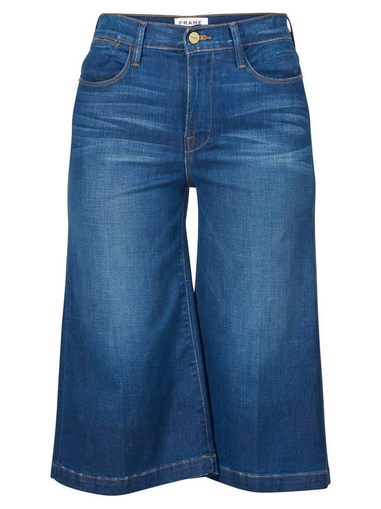 Frame Denim Le Gaucho culotte blau