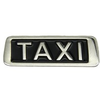 Godert.me Taxi Pin silber
