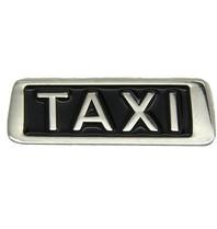 Godert.me Taxi pin silver