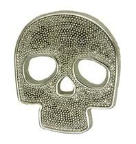 Godert.me Skull Pin Silber