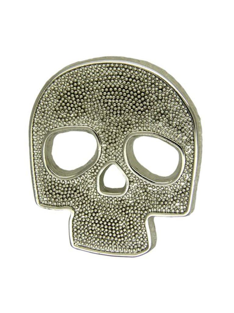 Godert.me Skull pin zilver