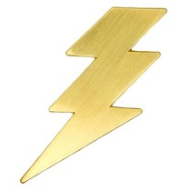 Godert.me Lightning Pin gold
