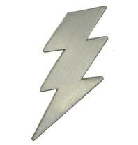 Godert.me Lightning pin zilver