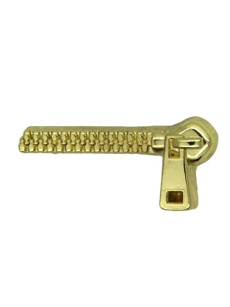 Godert.me Zipper Pin gold
