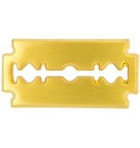 Godert.me Razor blade Pin gold