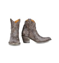 Mexicana Liberty zip boots brown