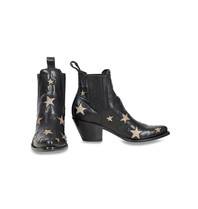 Mexicana Circus boots black gold