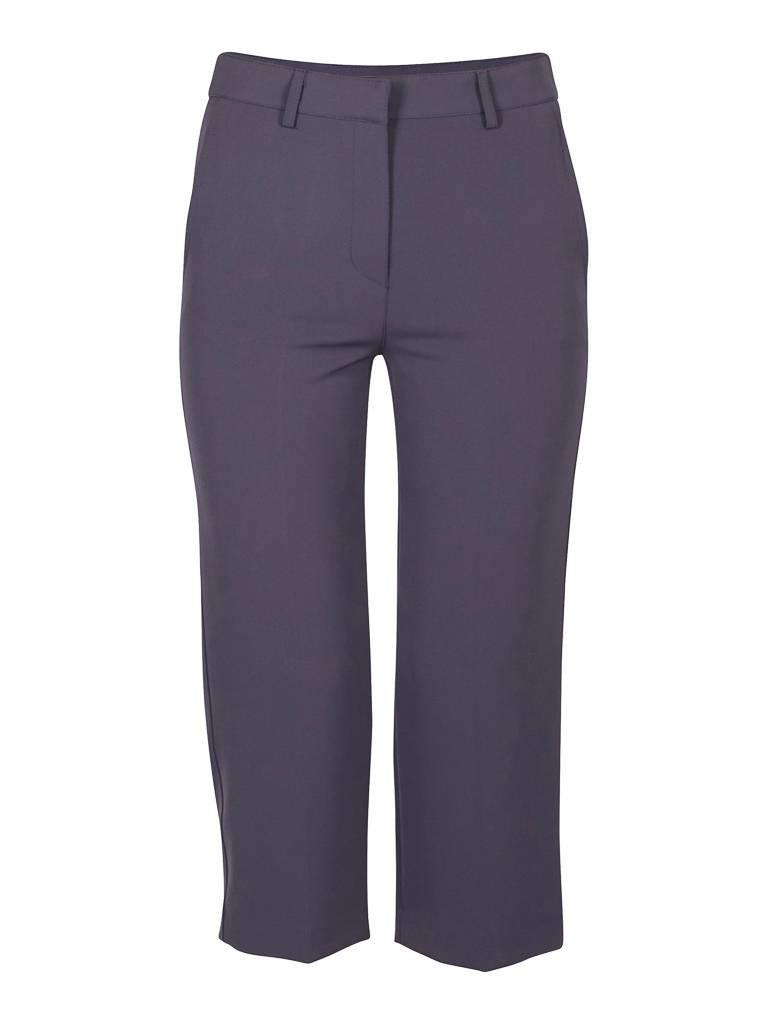 Atos Lombardini Gecropte pantalon blauw