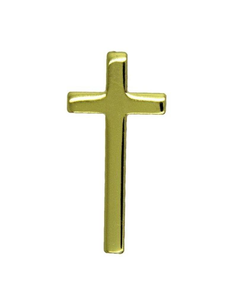 Godert.me Cross gold Pin