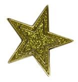 Godert.me Star glitter gold Pin