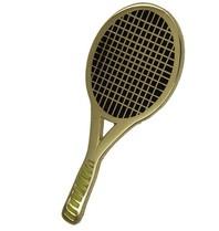 Godert.me Tennisrackt gold Pin