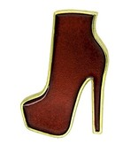 Godert.me High heel boot pin gold