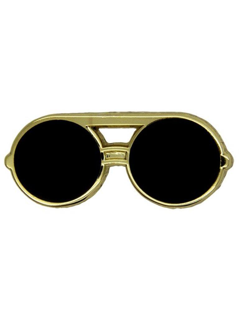 Godert.me Sunglass round gold Pin