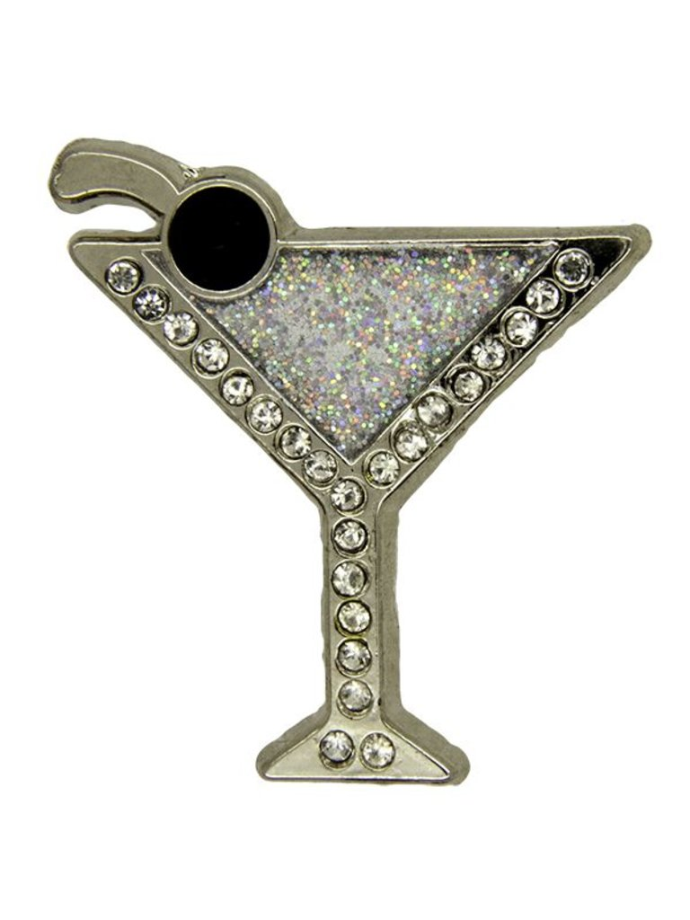 Godert.me Cocktail Pin silber