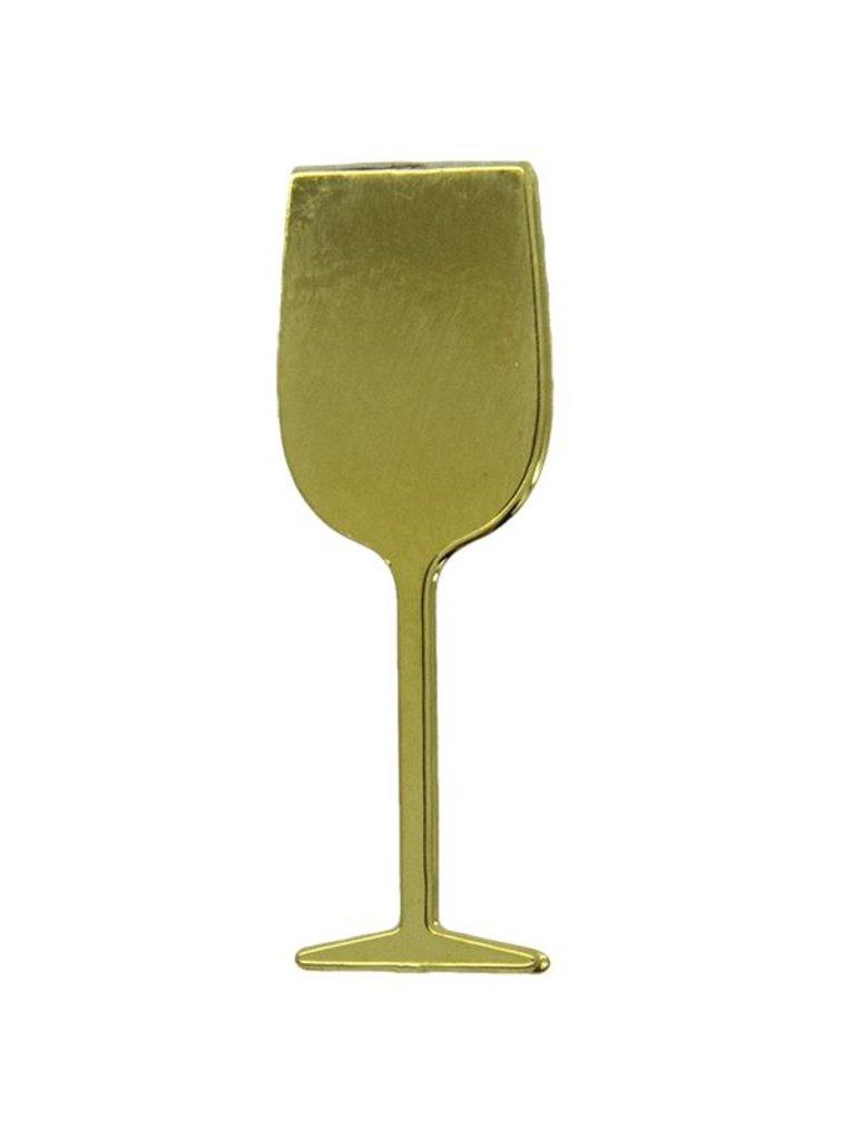 Godert.me Wineglass gold Pin
