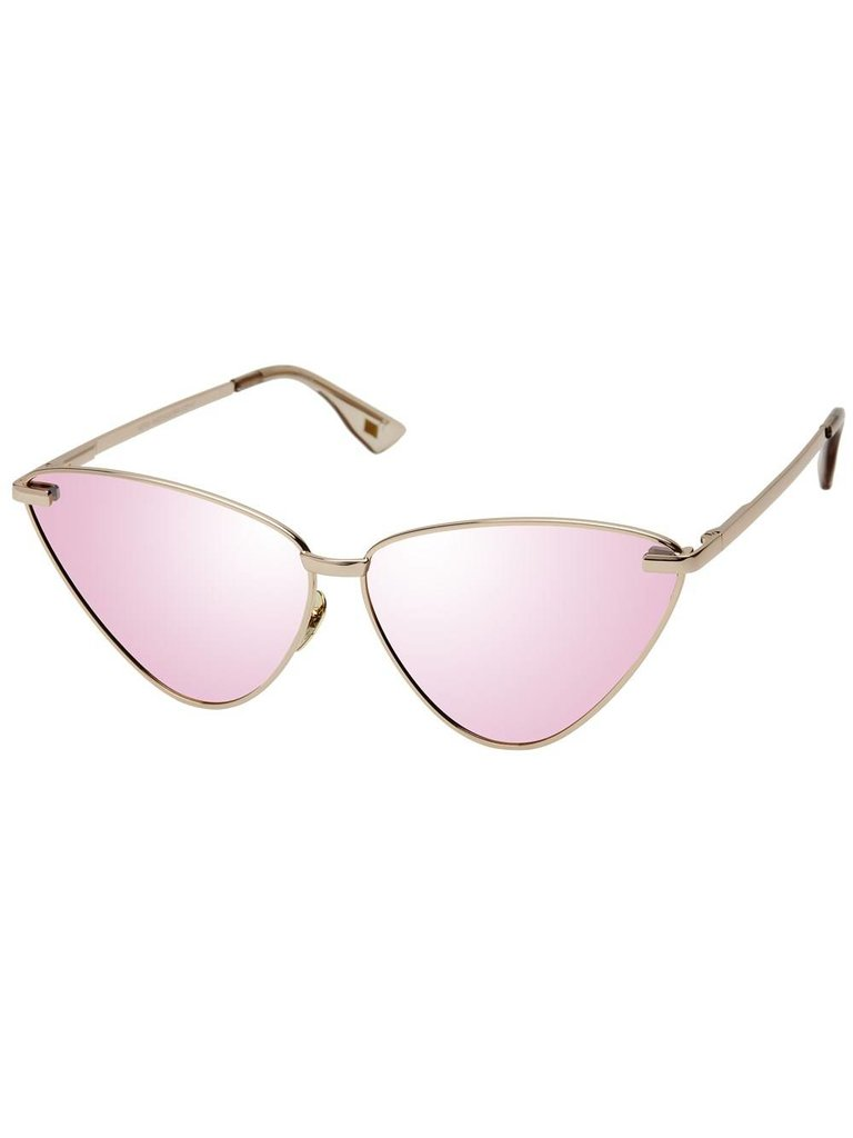 Le Specs Luxe Nero zonnebril rose