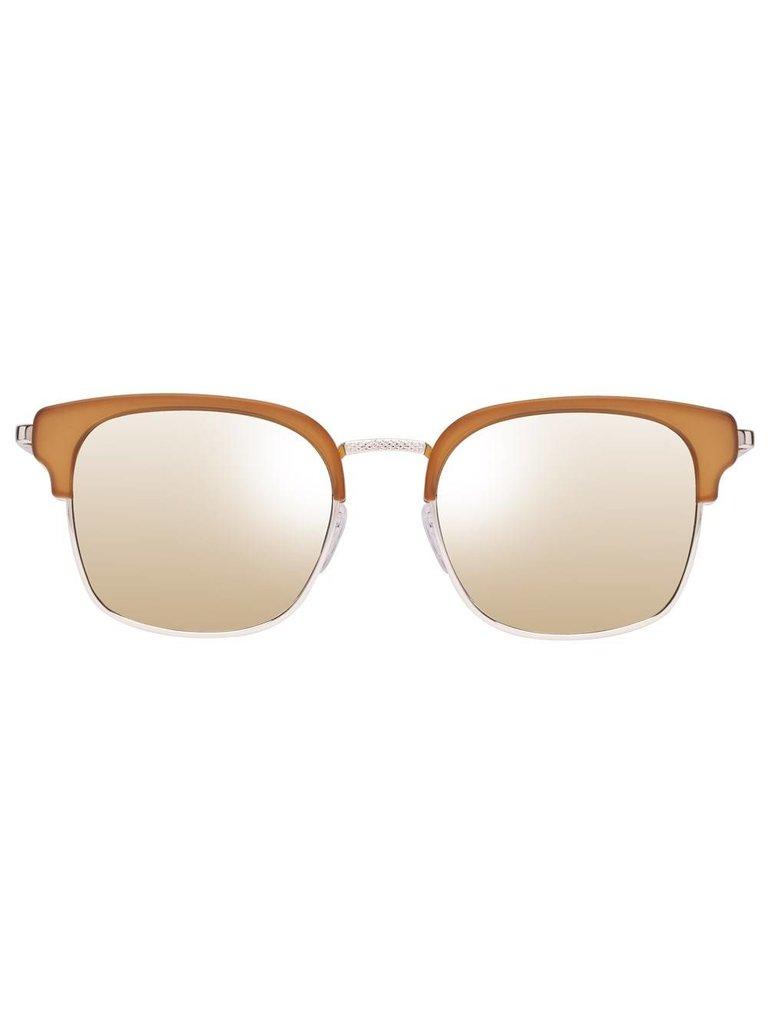 Le Specs Luxe Katoch zonnebril mat oker