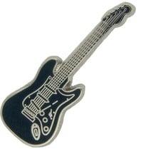 Godert.me Guitar pin dark blue silver