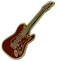 Godert.me Guitar pin red gold