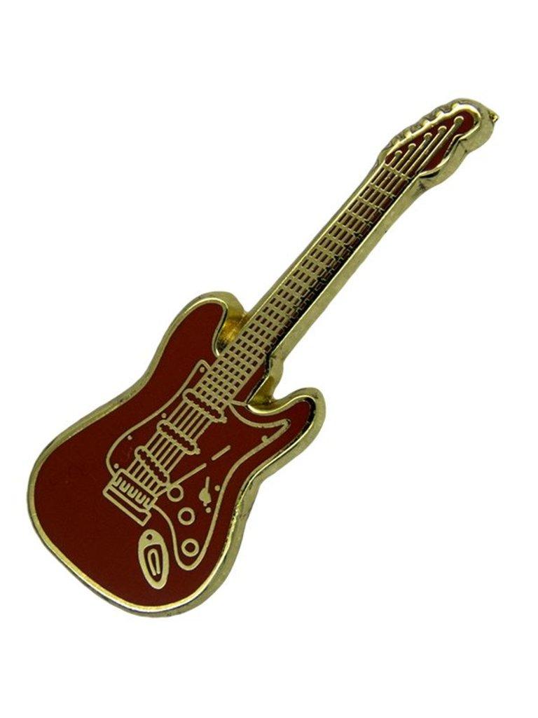 Godert.me Guitar Pin rot gold