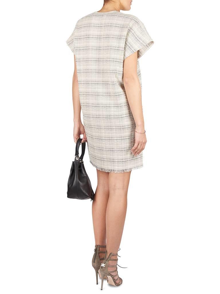 Aeron V-neck dress easy cream