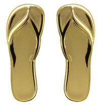Godert.me Flip flop slippers golden pin
