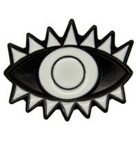 Godert.me Lucky eye pin black white
