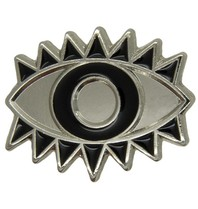 Godert.me Lucky eye pin silver black