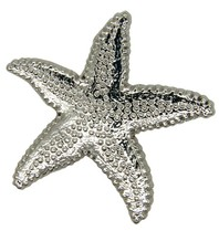 Godert.me Starfish Pin Silber