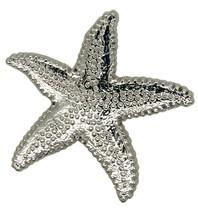 Godert.me Starfish pin zilver