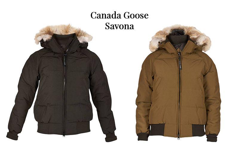 Ladies Canada Goose Savona