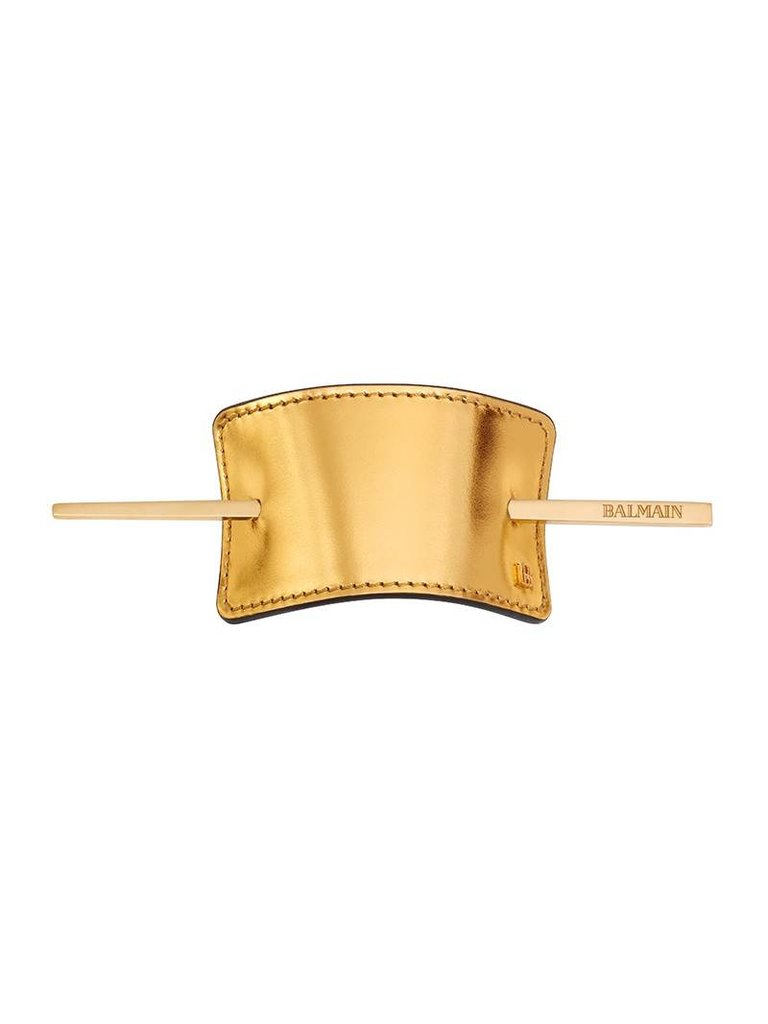 Balmain Hair Couture barrette gold