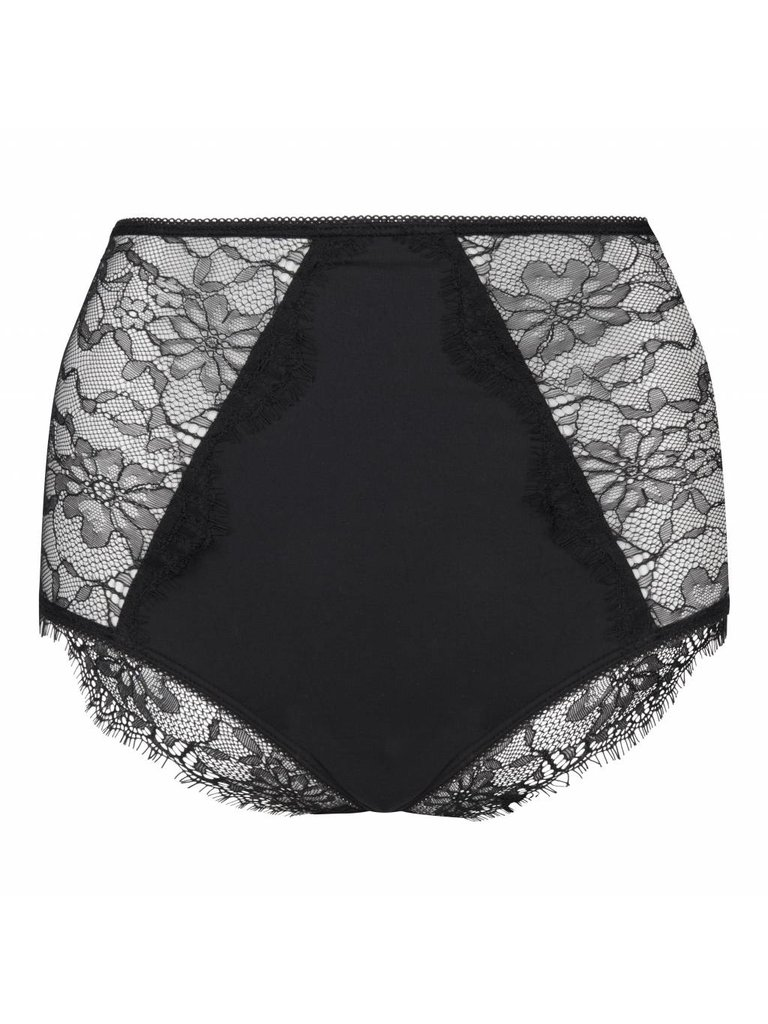 Chptr-S Sebastian slip lace black