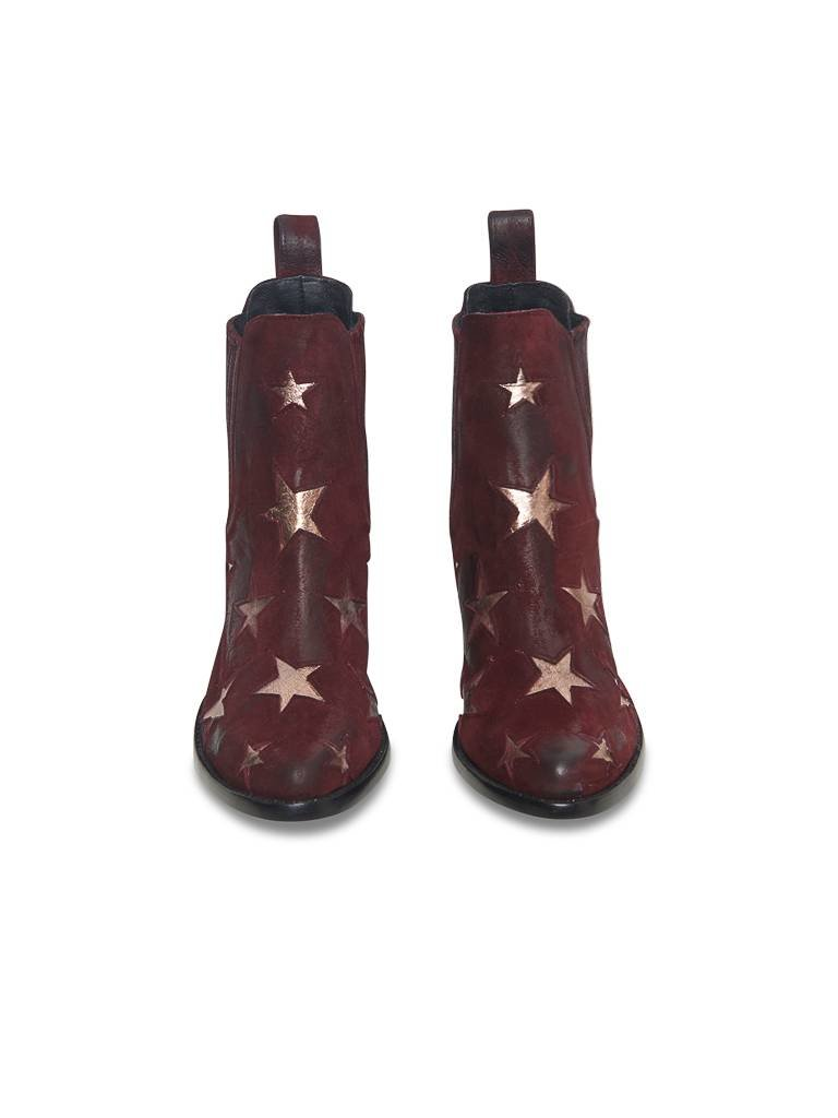 Mexicana Circus Stiefel rot gold