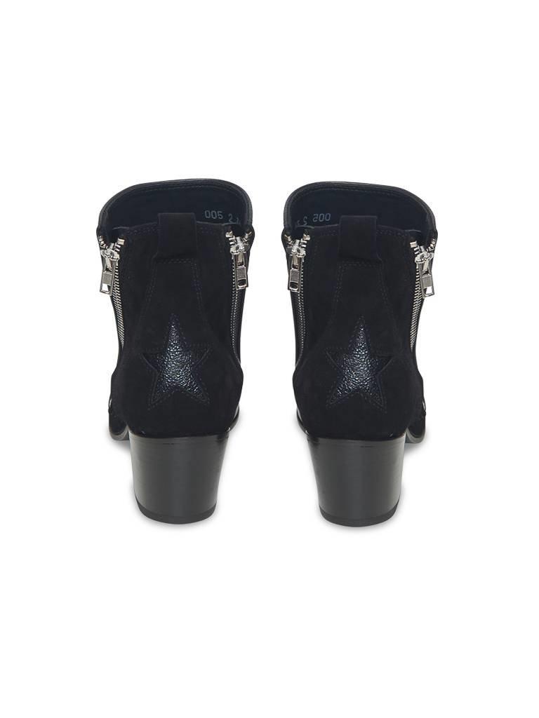 Mexicana Stiefel Bolzen schwarz