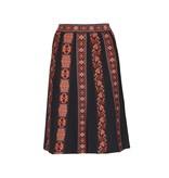 M Missoni knit midi skirt gemusterten Mehrfarben