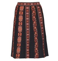 M Missoni Knitted skirt with multicolor pattern