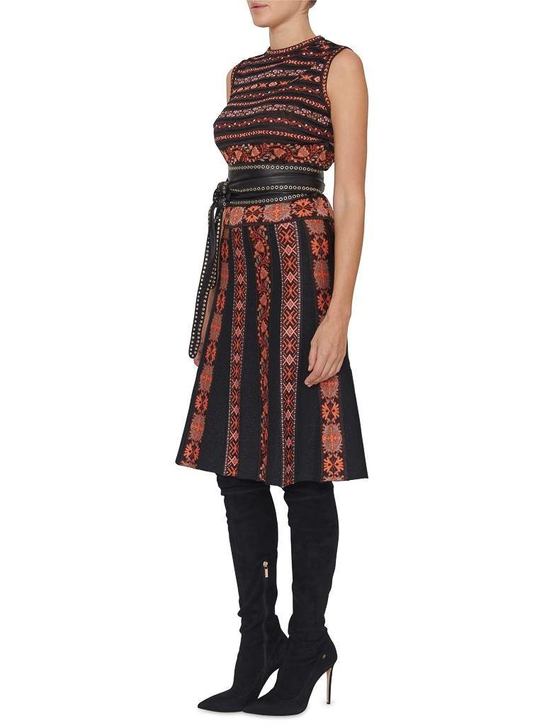 M Missoni: Knitted skirt with multicolor pattern - VLVT Online