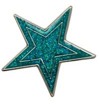 Godert.me Star pin blauw