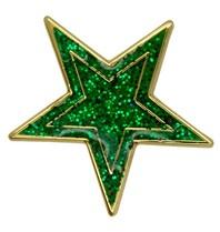 Godert.me Star pin green