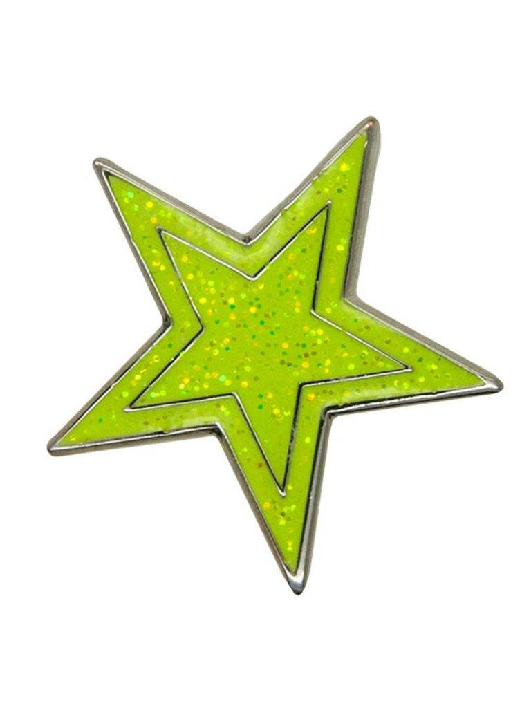 Godert.me Star pin geel