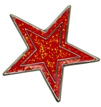Godert.me Star pin red