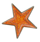 Godert.me Star pin oranje