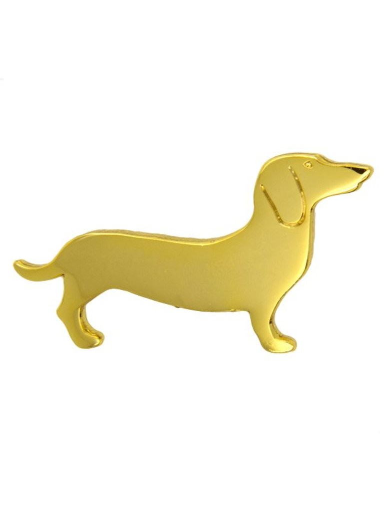 Godert.me Wurst Hund Stift Gold