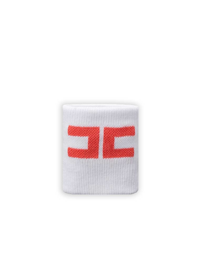 Elisabetta Franchi Sportband wit met koraal