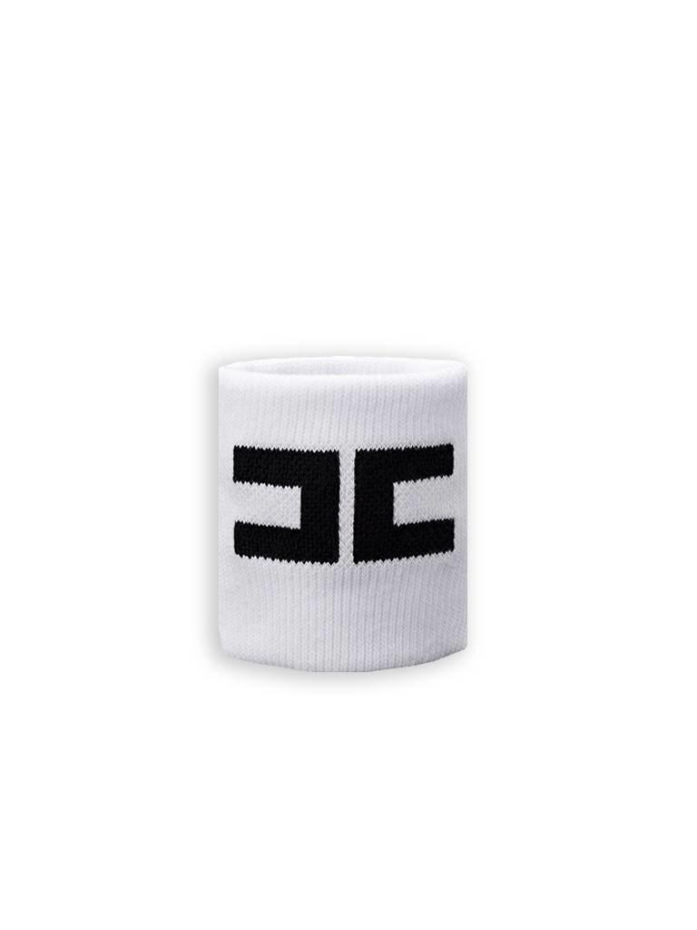 Elisabetta Franchi Sportband weiß mit schwarz
