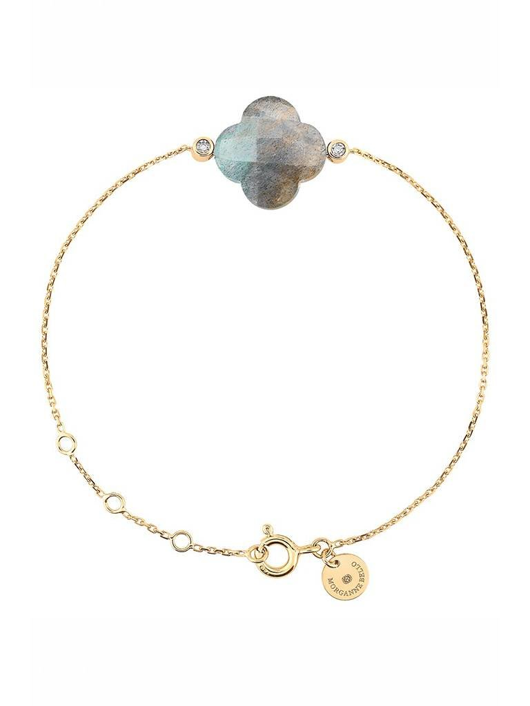 Morganne Bello armband mit Labradorit diamant