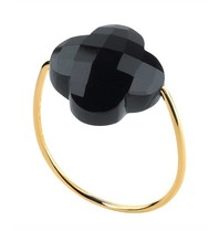 Morganne Bello ring onyx steen maat 56