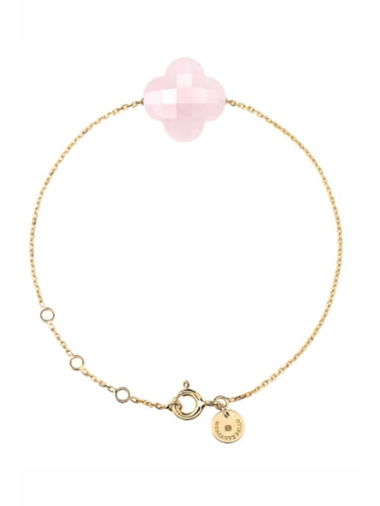 Morganne Bello Armband mit rosa Quarzstein