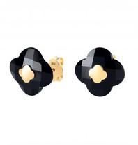 Morganne Bello earrings onyx